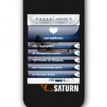 Facebook-App und Iphone-App von Saturn mit Tara Technique