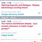 widjet GmbH entwickelt die offizielle dmexco-App